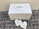 Shabby Personalised Chic In Memory Of A BROTHER Loved One Keepsake Box ANY NAME - 232993486461
